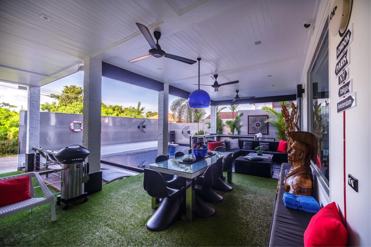 REAL Phuket  Agency's The Club Residence - 7-Bedroom Designer Pool Villa with Sea View Terrace in Saiyuan 40