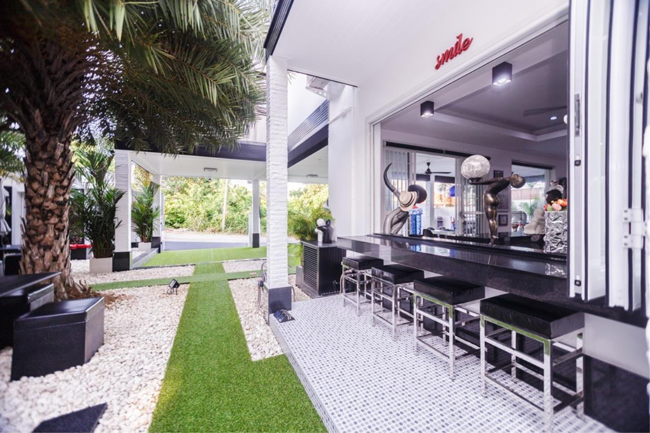 REAL Phuket  Agency's The Club Residence - 7-Bedroom Designer Pool Villa with Sea View Terrace in Saiyuan 55