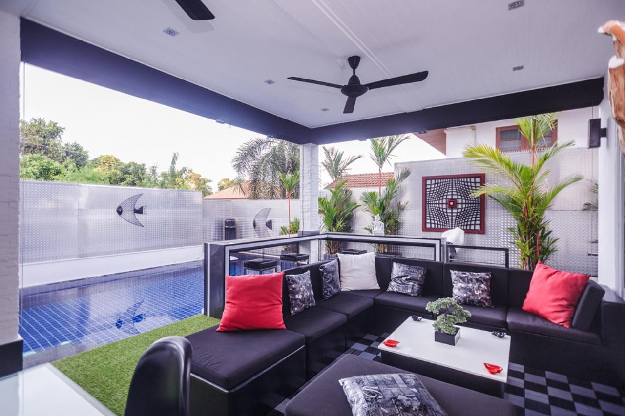 REAL Phuket  Agency's The Club Residence - 7-Bedroom Designer Pool Villa with Sea View Terrace in Saiyuan 58