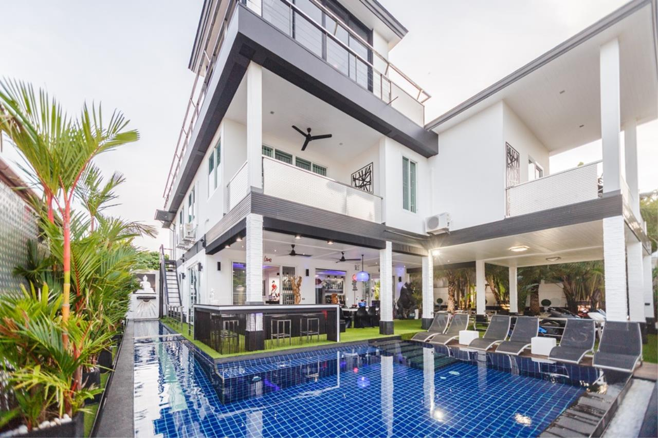 REAL Phuket  Agency's The Club Residence - 7-Bedroom Designer Pool Villa with Sea View Terrace in Saiyuan 1
