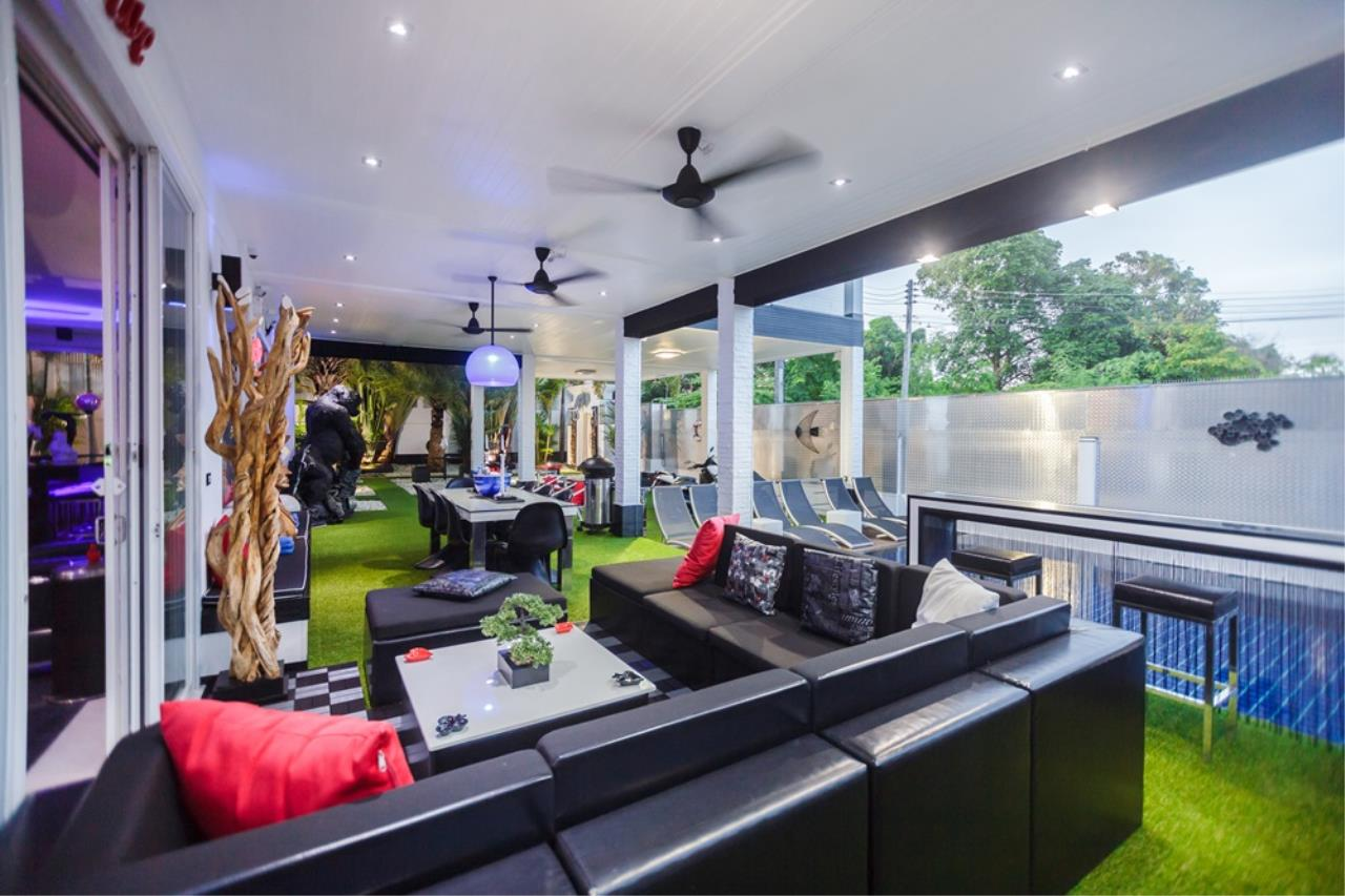 REAL Phuket  Agency's The Club Residence - 7-Bedroom Designer Pool Villa with Sea View Terrace in Saiyuan 74