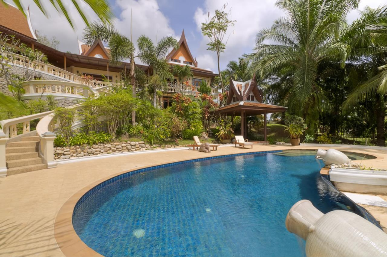REAL Phuket  Agency's Vichuda Hills - Magnificent 4-Bedroom Private Pool Villa on Layan Hillside 5