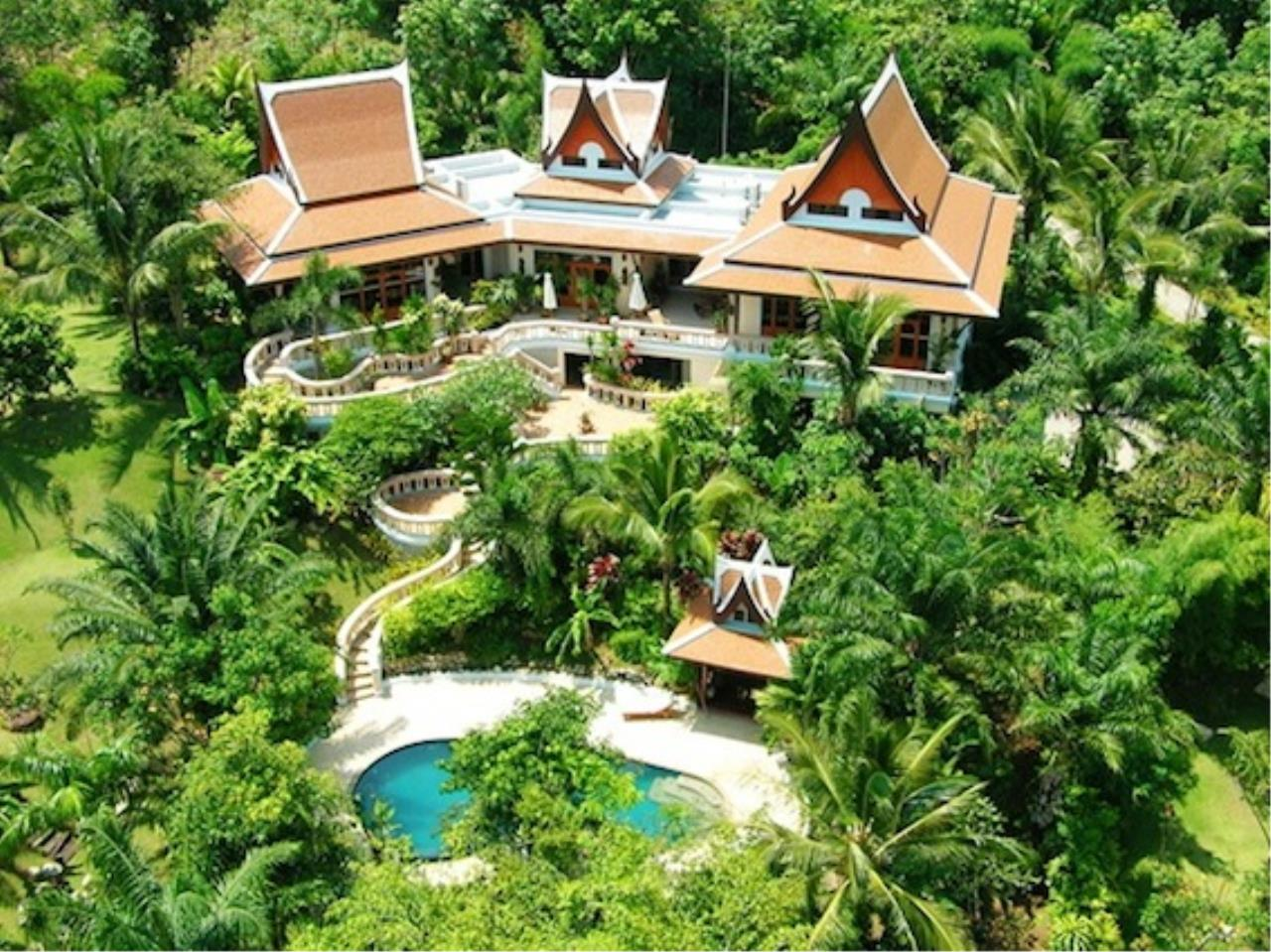 REAL Phuket  Agency's Vichuda Hills - Magnificent 4-Bedroom Private Pool Villa on Layan Hillside 1