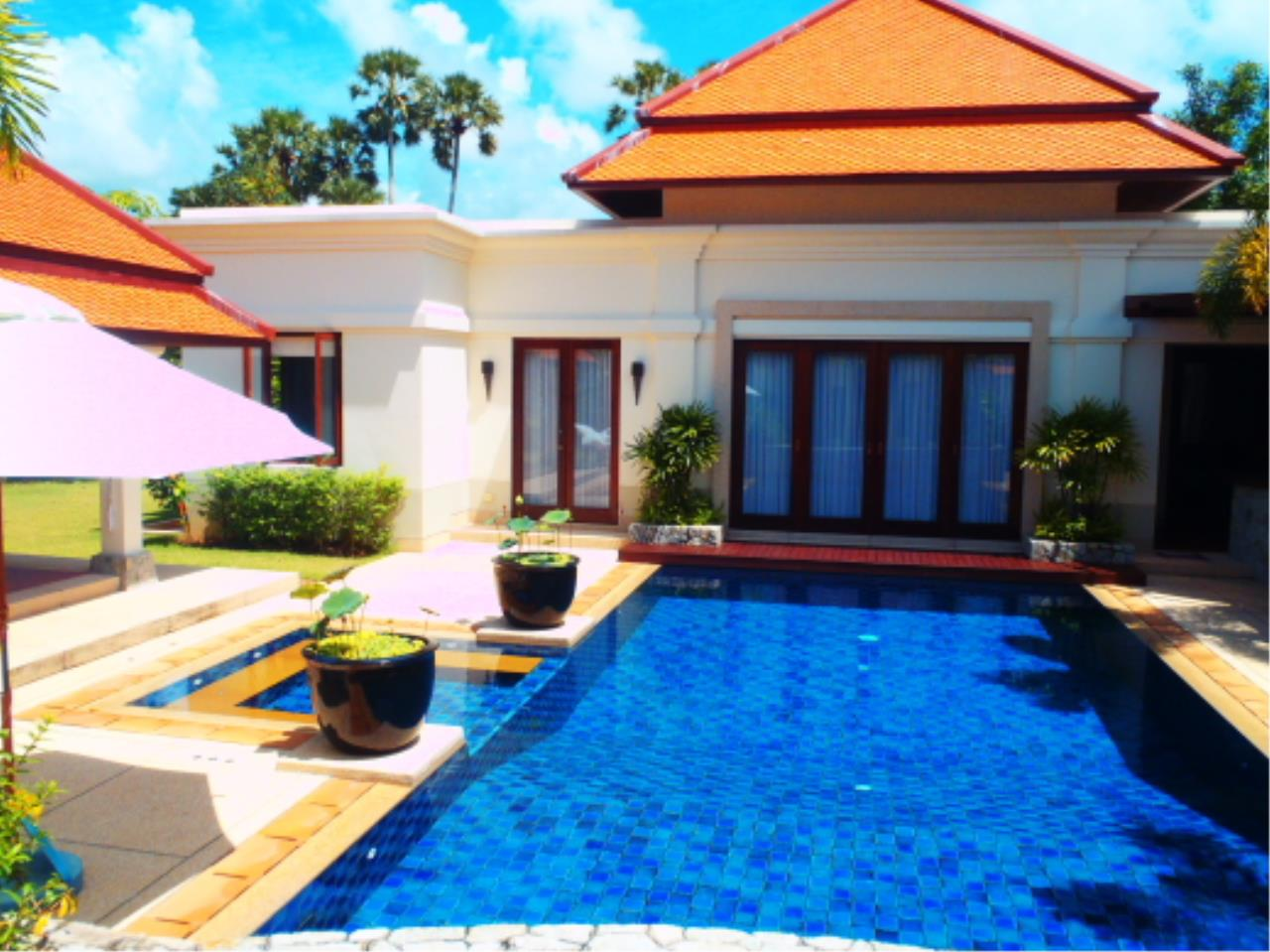 REAL Phuket  Agency's Sai Taan - Luxury Private Pool Villa 4 Bedroom near Bang Tao Beach 1