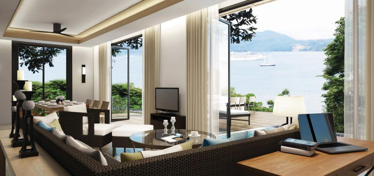 REAL Phuket  Agency's Amari Residences - 3-Bedroom Hotel Serviced Luxury Pool Villa overlooking Patong Bay 2