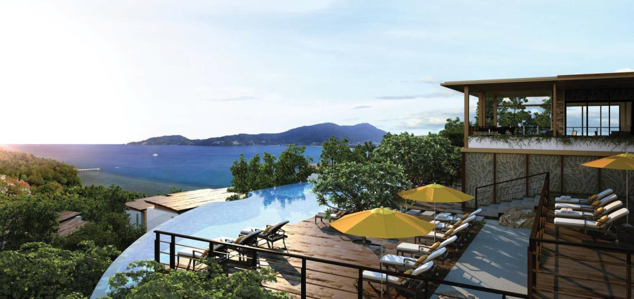 REAL Phuket  Agency's Amari Residences - 3-Bedroom Hotel Serviced Luxury Pool Villa overlooking Patong Bay 1