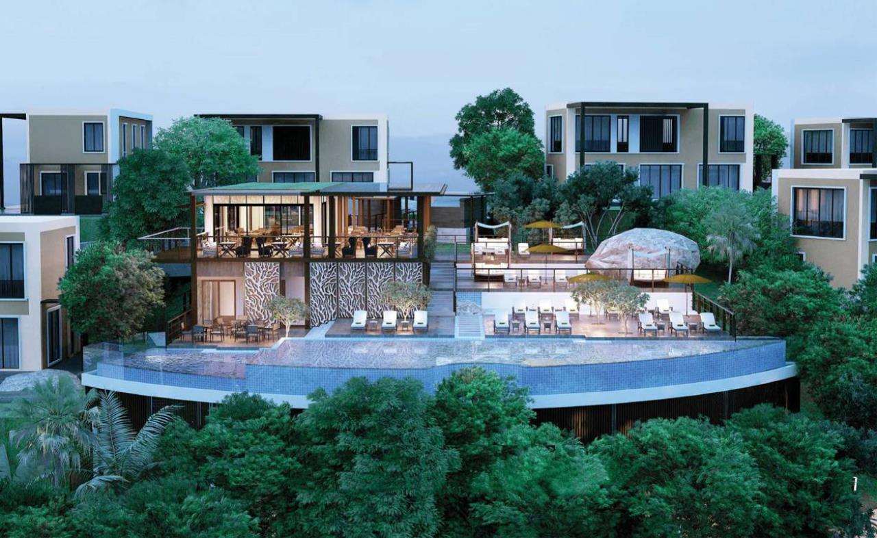 REAL Phuket  Agency's Amari Residences - 3-Bedroom Hotel Serviced Luxury Pool Villa overlooking Patong Bay 4