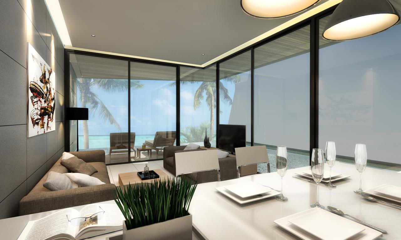 REAL Phuket  Agency's The Beachfront - New 2 & 3-Bedroom Pool Villas overlooking Chalong Bay 2