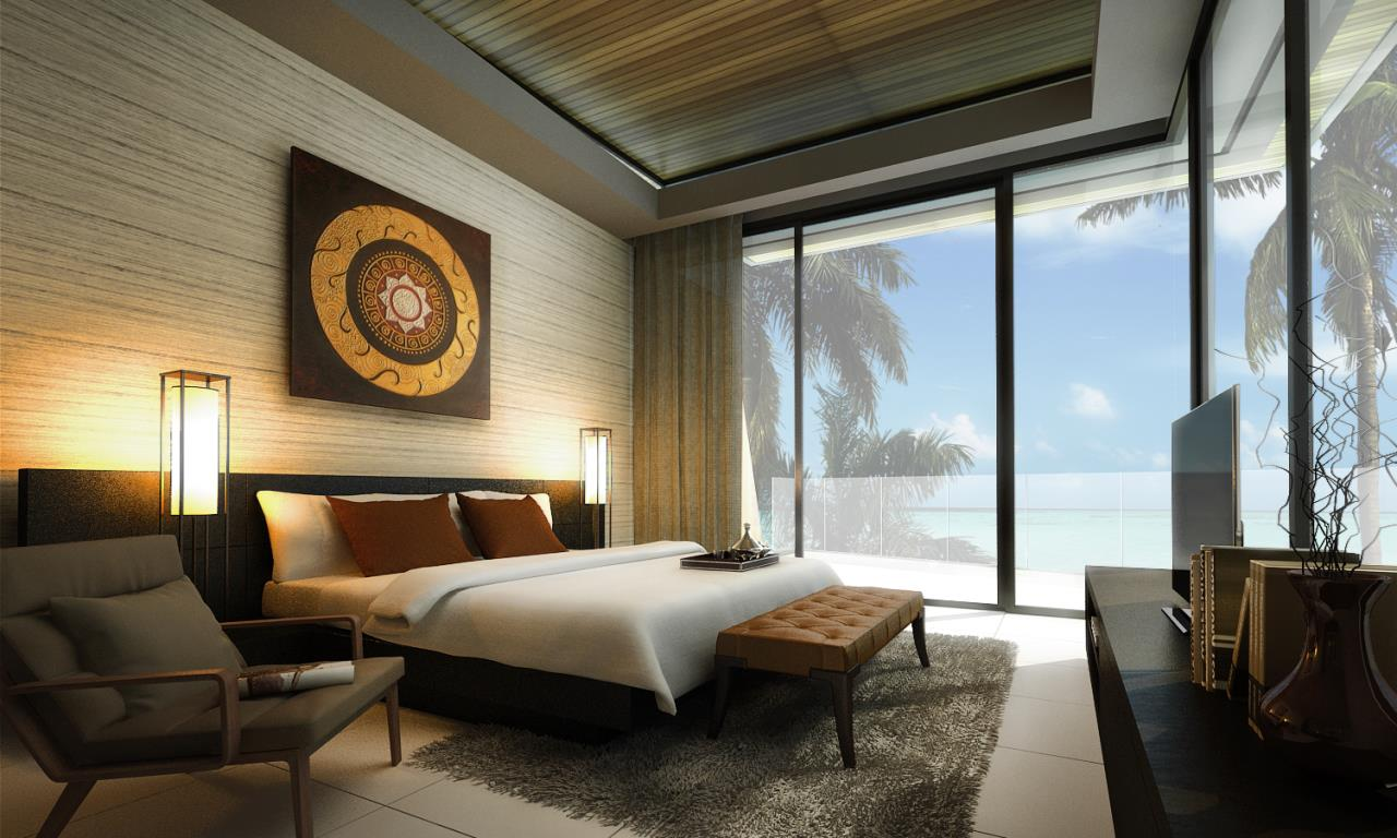 REAL Phuket  Agency's The Beachfront - New 2 & 3-Bedroom Pool Villas overlooking Chalong Bay 5