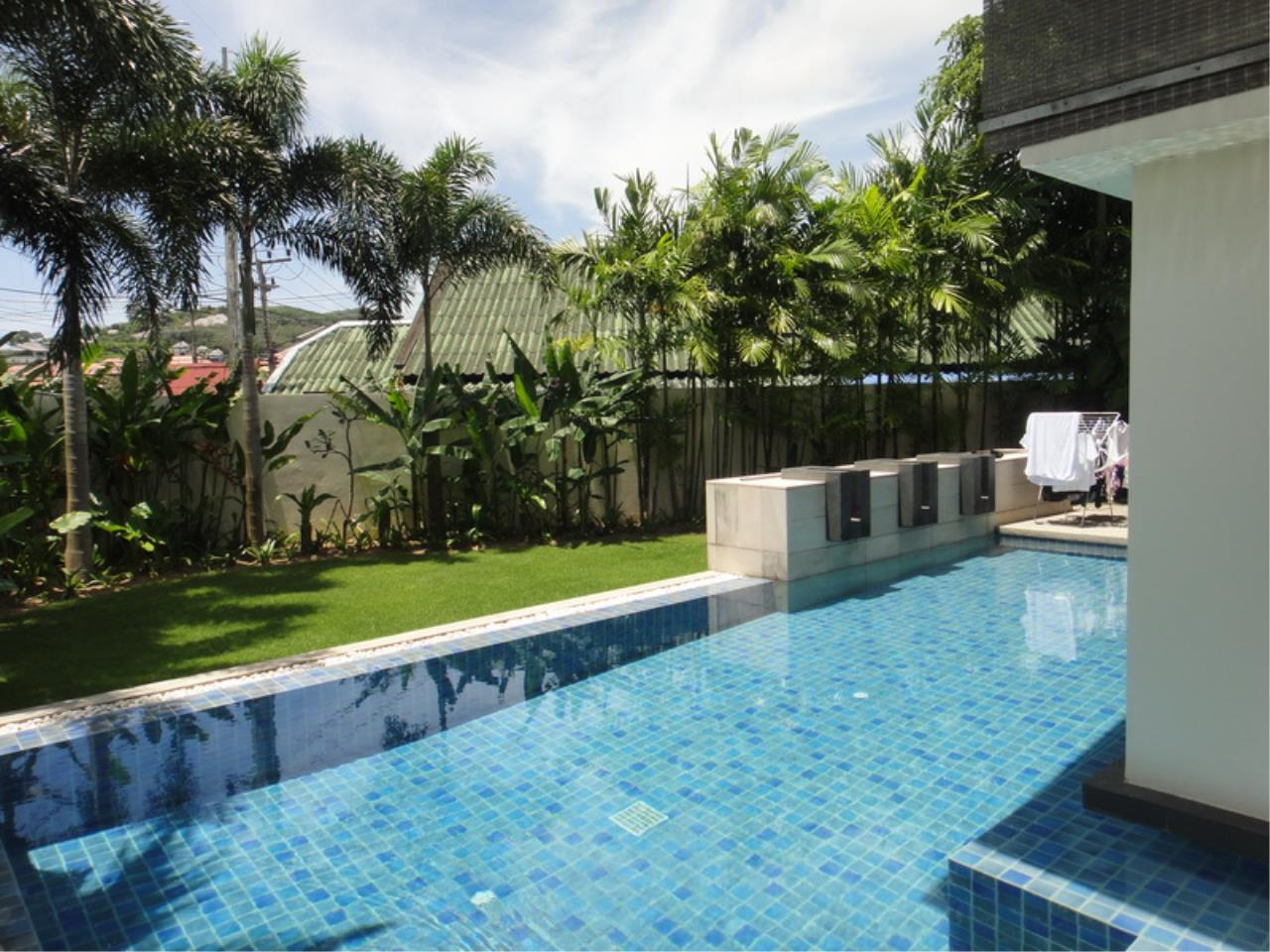 REAL Phuket  Agency's Luna - Modern 3-Bedroom Private Pool Villa near Laguna for Rent 1