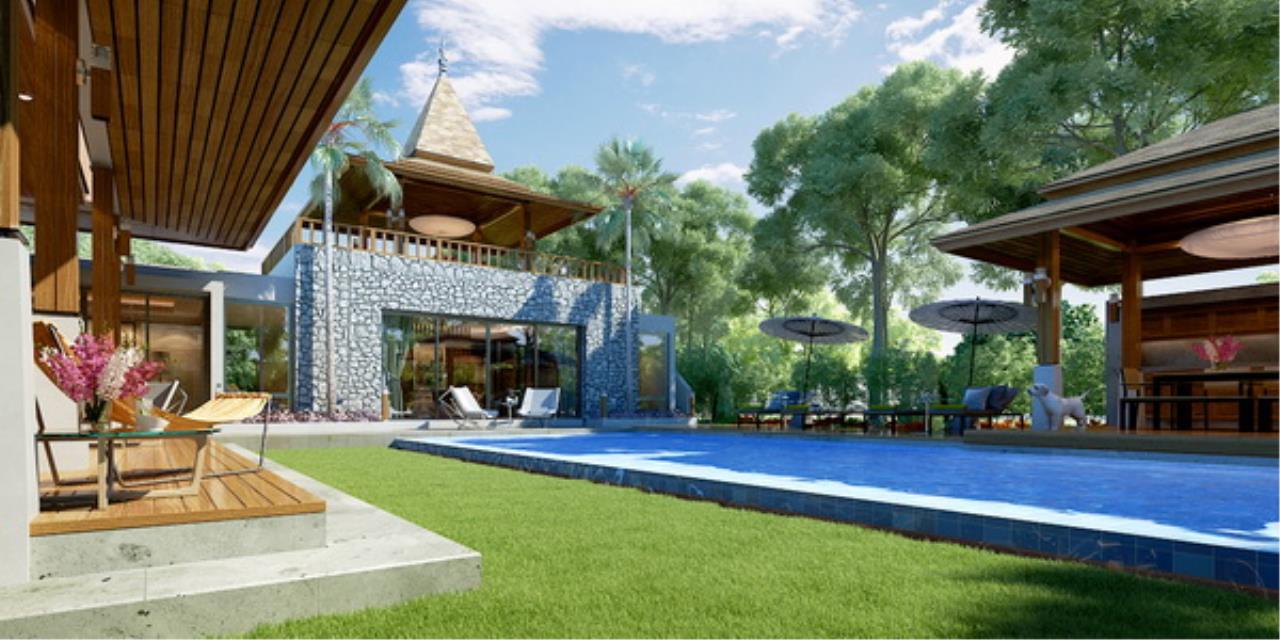 REAL Phuket  Agency's Botanica Villas (Phase III) - Contemporary 3-Bedroom Pool Villa at Layan Beach 24