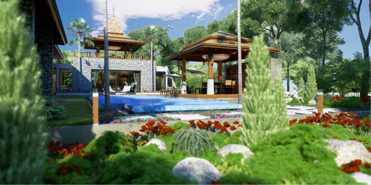 REAL Phuket  Agency's Botanica Villas (Phase III) - Contemporary 3-Bedroom Pool Villa at Layan Beach 27