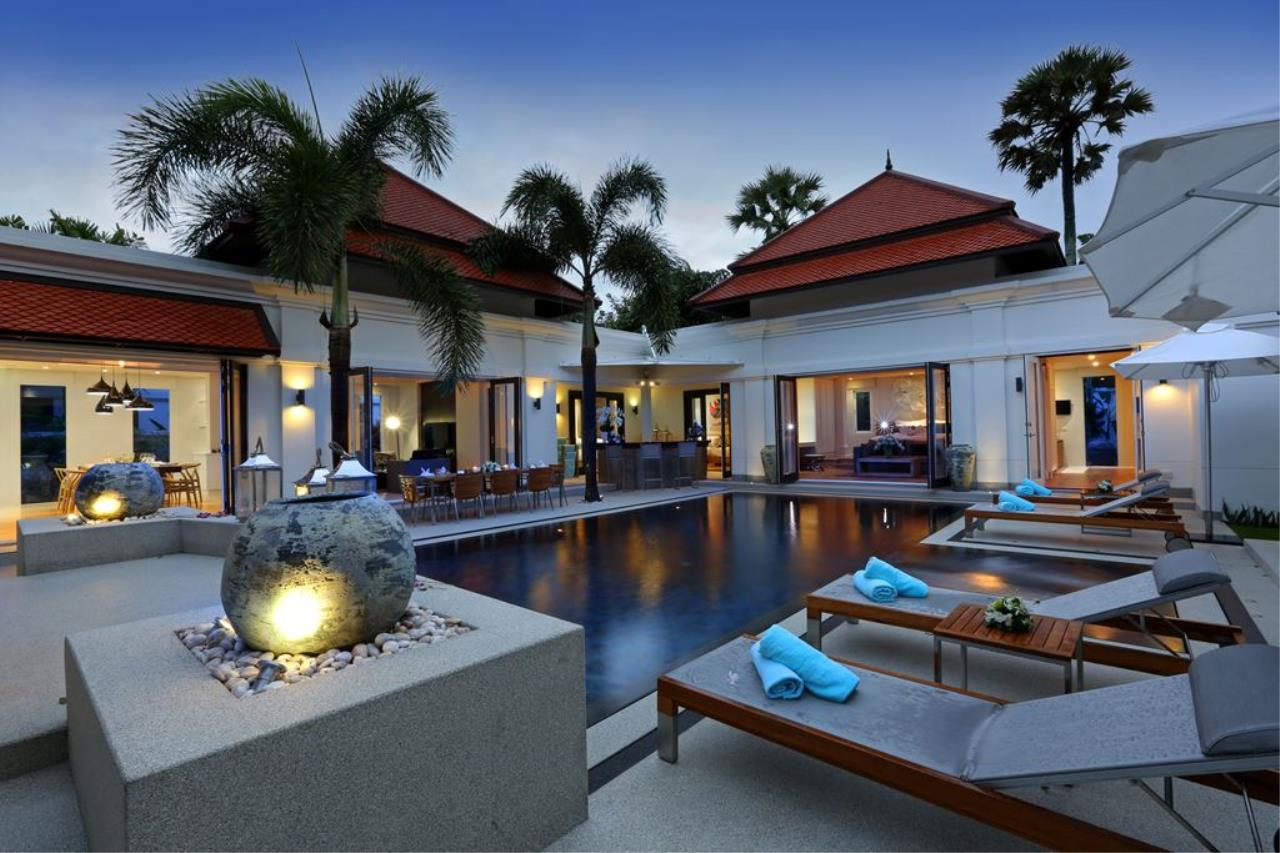 REAL Phuket  Agency's Sai Taan - Gorgeous 4-Bedroom Private Pool Villa near Laguna 1