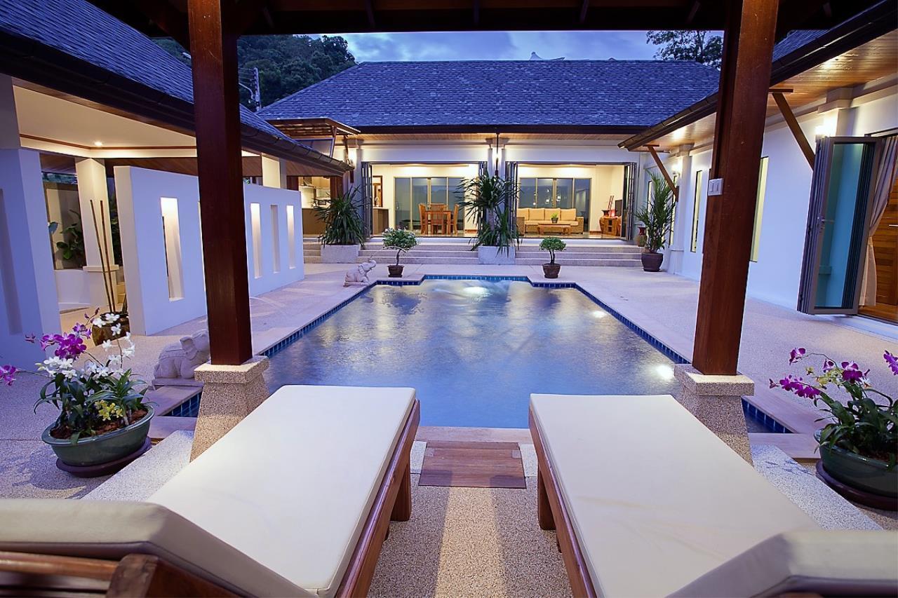 REAL Phuket  Agency's Thai-Balinese Style 3-Bedroom Pool Villa in Rawai 1