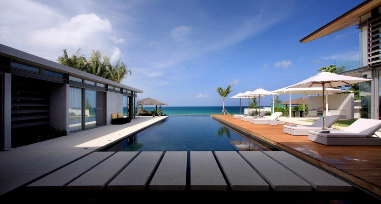 REAL Phuket  Agency's Villa Amarelo - 6-Bedroom Beachfront Villa at Sava Natai 2
