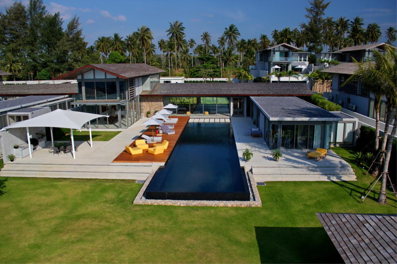 REAL Phuket  Agency's Villa Amarelo - 6-Bedroom Beachfront Villa at Sava Natai 1