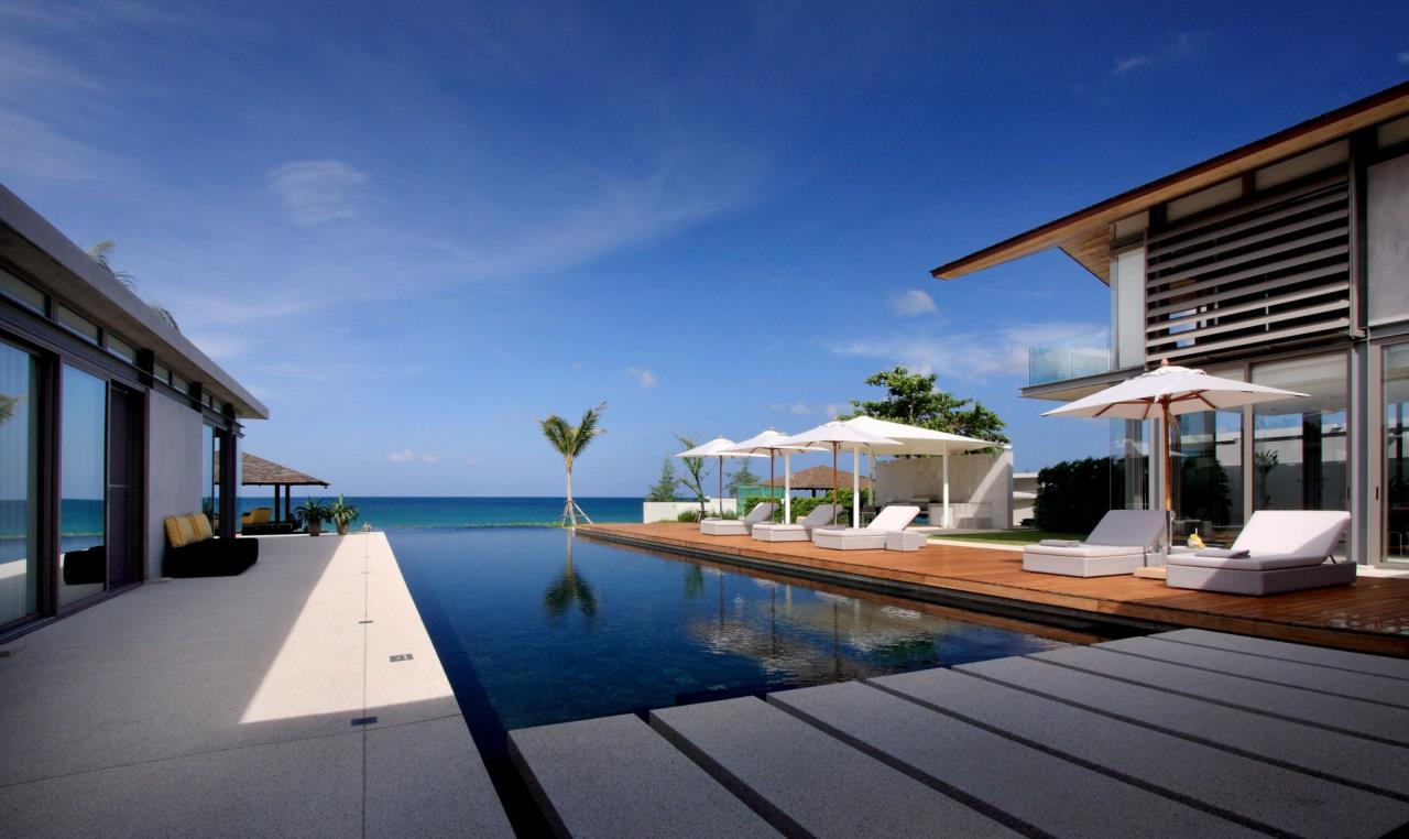 REAL Phuket  Agency's Villa Amarelo - 6-Bedroom Beachfront Villa at Sava Natai 7