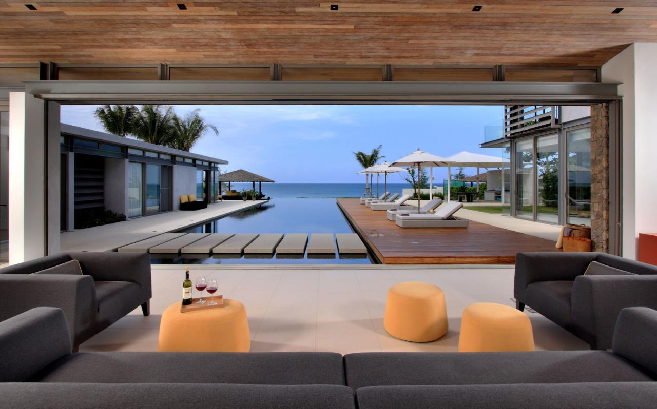 REAL Phuket  Agency's Villa Amarelo - 6-Bedroom Beachfront Villa at Sava Natai 12