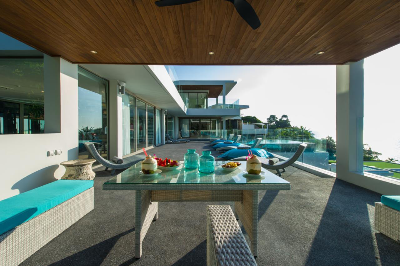 REAL Phuket  Agency's Villa Silver Moon - Stunning 6-Bedroom Ocean View Villa at Cape Amarin 27