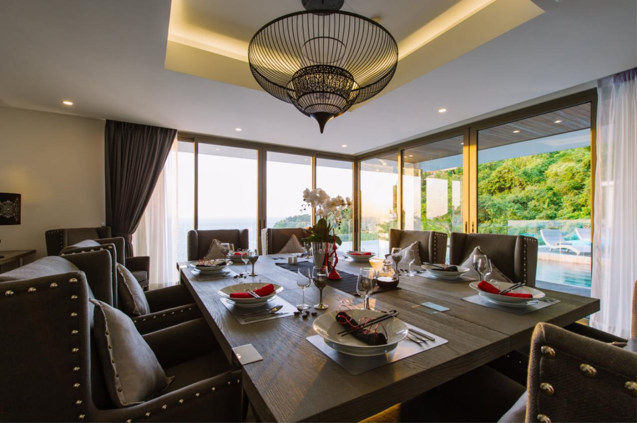 REAL Phuket  Agency's Villa Silver Moon - Stunning 6-Bedroom Ocean View Villa at Cape Amarin 60