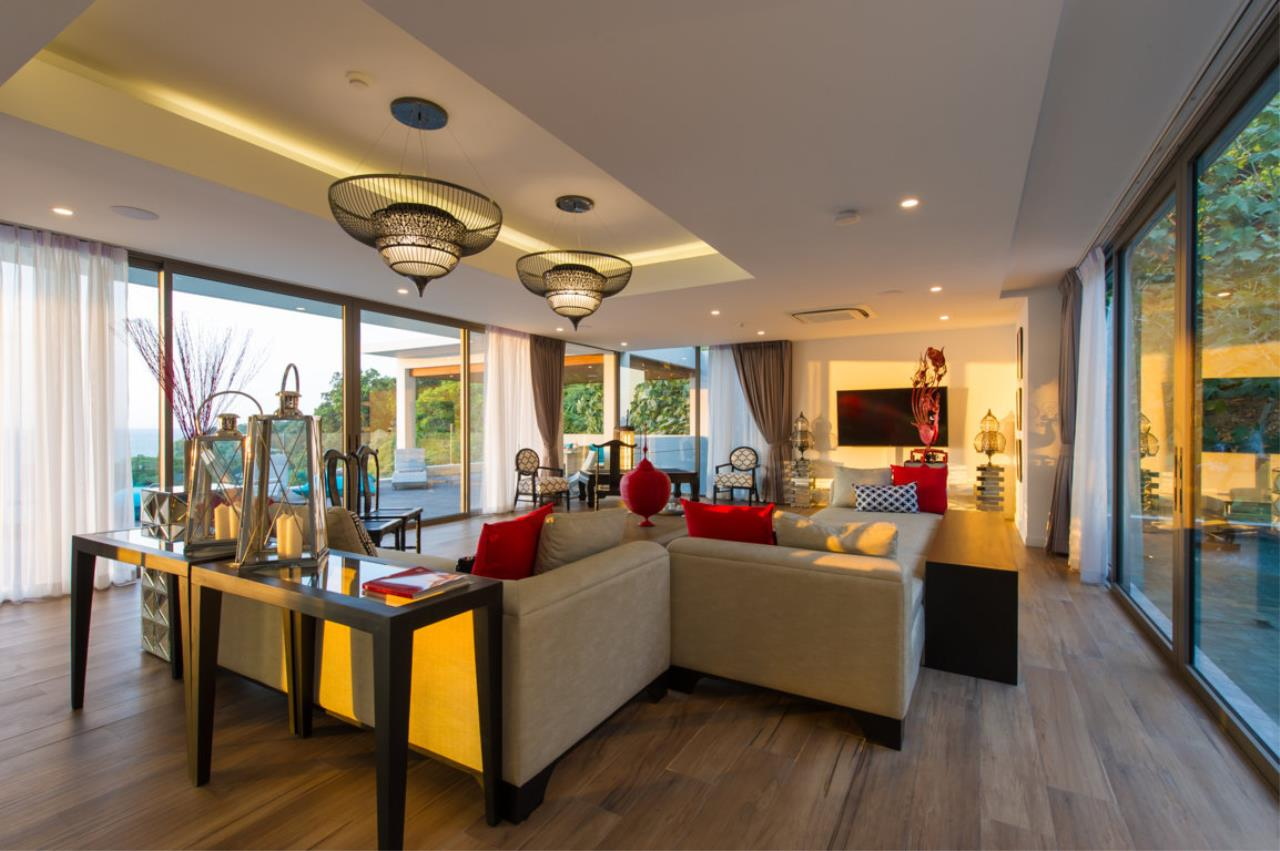 REAL Phuket  Agency's Villa Silver Moon - Stunning 6-Bedroom Ocean View Villa at Cape Amarin 62