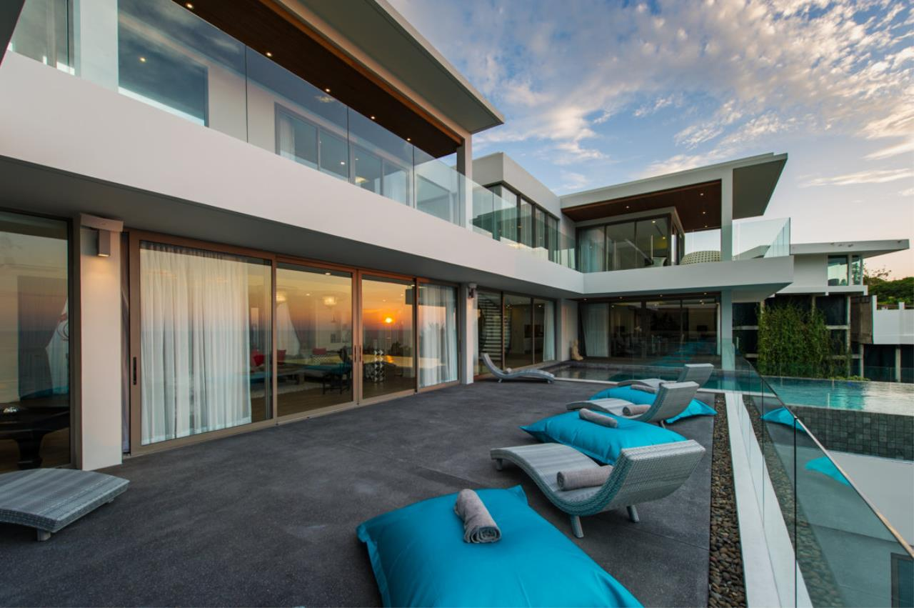 REAL Phuket  Agency's Villa Silver Moon - Stunning 6-Bedroom Ocean View Villa at Cape Amarin 70