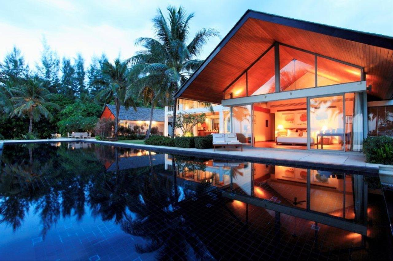 REAL Phuket  Agency's Natai Villa - A Luxurious Oceanfront 6-Bedroom Pool Villa on Natai Beach 1