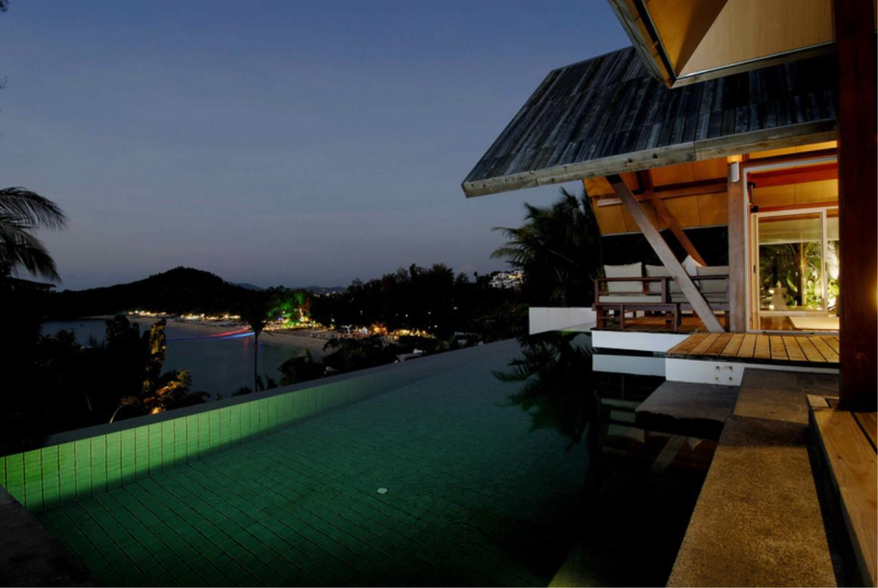 REAL Phuket  Agency's Laem Singh - Elegant 4-Bedroom Oceanfront Villa overlooking Surin Beach 1