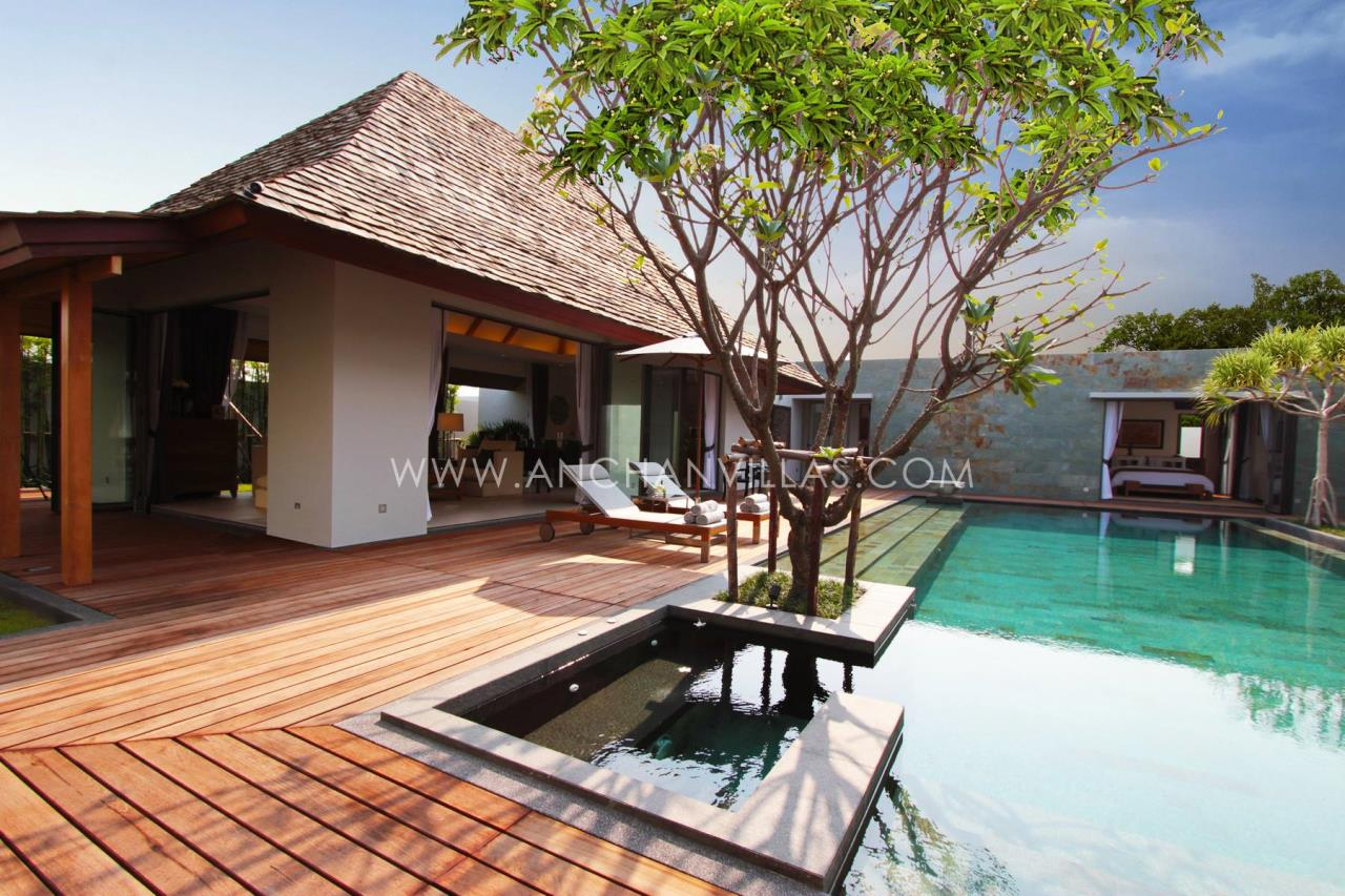 REAL Phuket  Agency's Anchan Lagoon - High-End 4-Bedroom Pool Villas in Layan 4