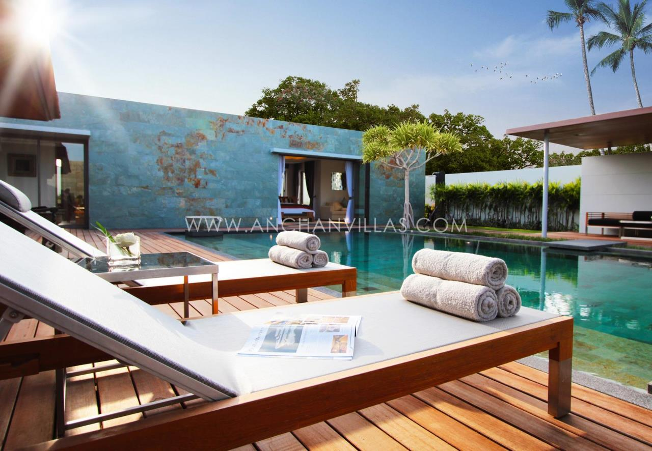 REAL Phuket  Agency's Anchan Lagoon - High-End 4-Bedroom Pool Villas in Layan 5