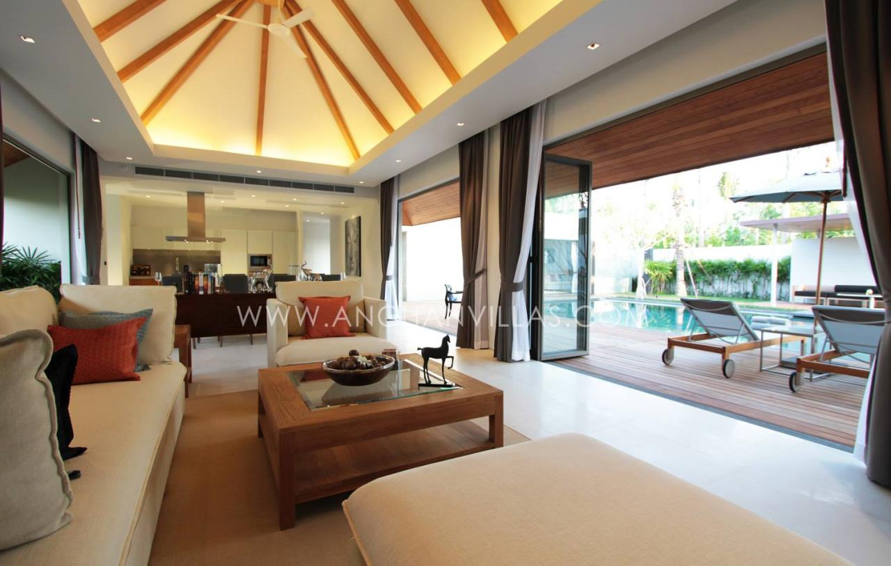 REAL Phuket  Agency's Anchan Lagoon - High-End 4-Bedroom Pool Villas in Layan 7