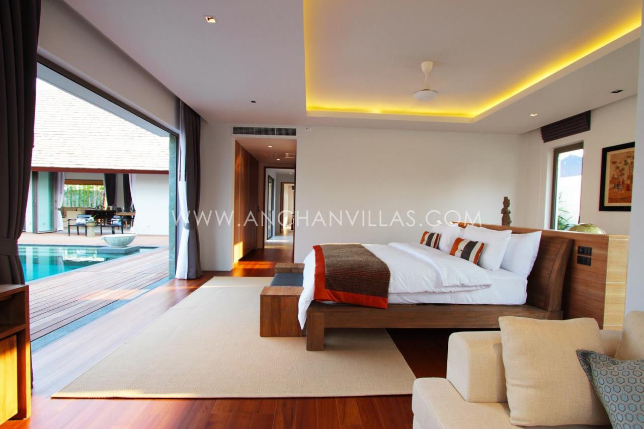 REAL Phuket  Agency's Anchan Lagoon - High-End 4-Bedroom Pool Villas in Layan 9