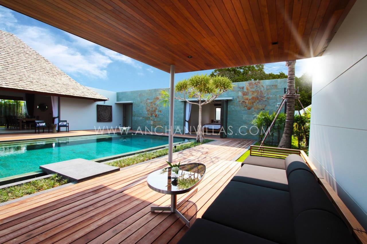 REAL Phuket  Agency's Anchan Lagoon - High-End 4-Bedroom Pool Villas in Layan 1