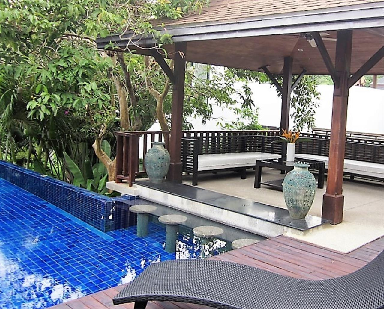 REAL Phuket  Agency's Naya - 4-Bedroom Hillside Pool Villa near Naiharn Lake 3