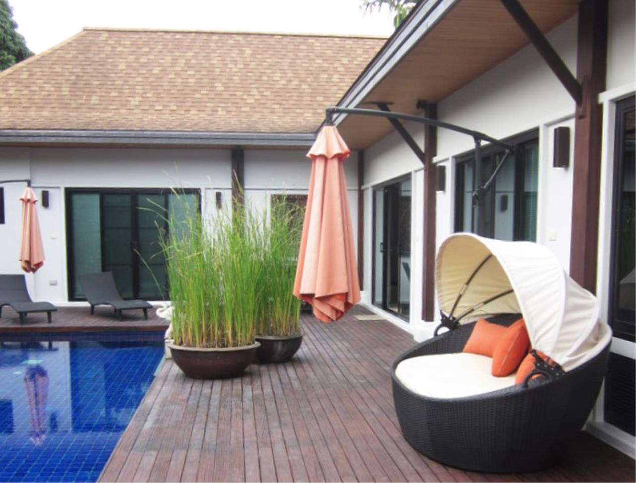 REAL Phuket  Agency's Naya - 4-Bedroom Hillside Pool Villa near Naiharn Lake 1