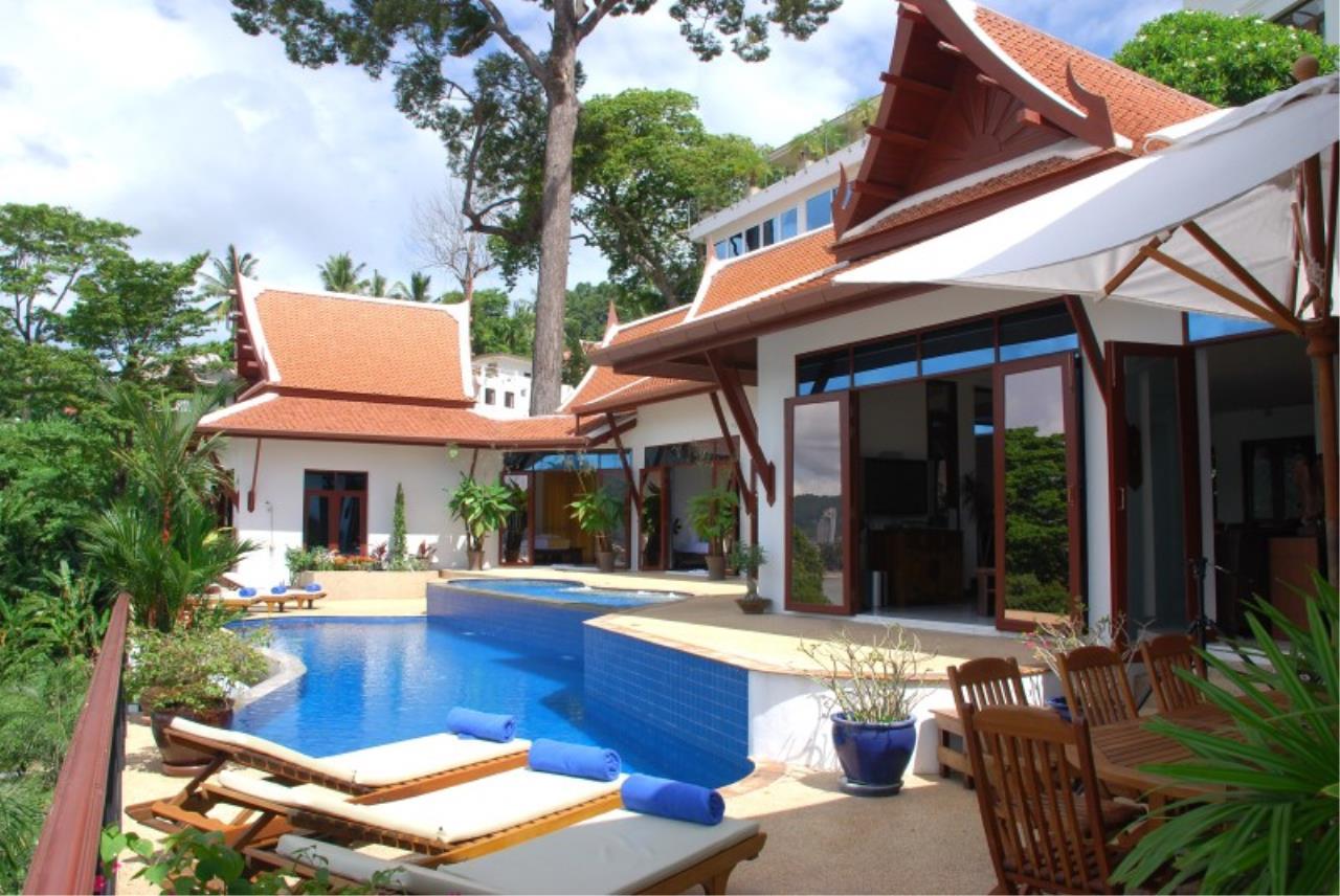 REAL Phuket  Agency's Pra Nang - Superb 5-Bedroom Luxury Villa overlooking Patong Bay 2