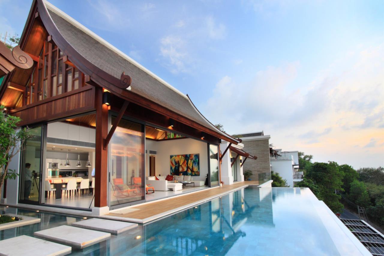 REAL Phuket  Agency's Malaiwana - Luxury Estate Villa overlooking Naithon Beach 4