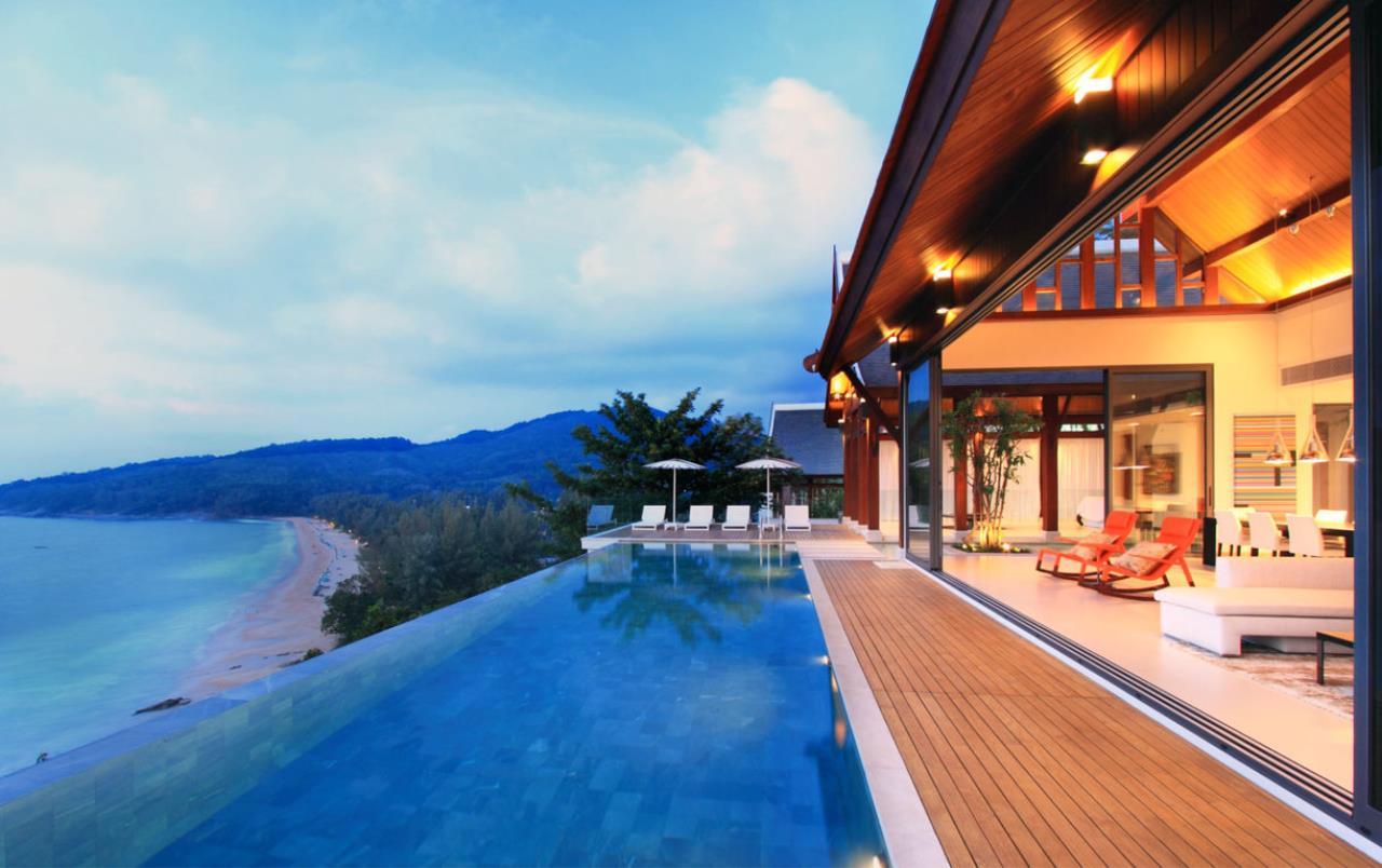 REAL Phuket  Agency's Malaiwana - Luxury Estate Villa overlooking Naithon Beach 1