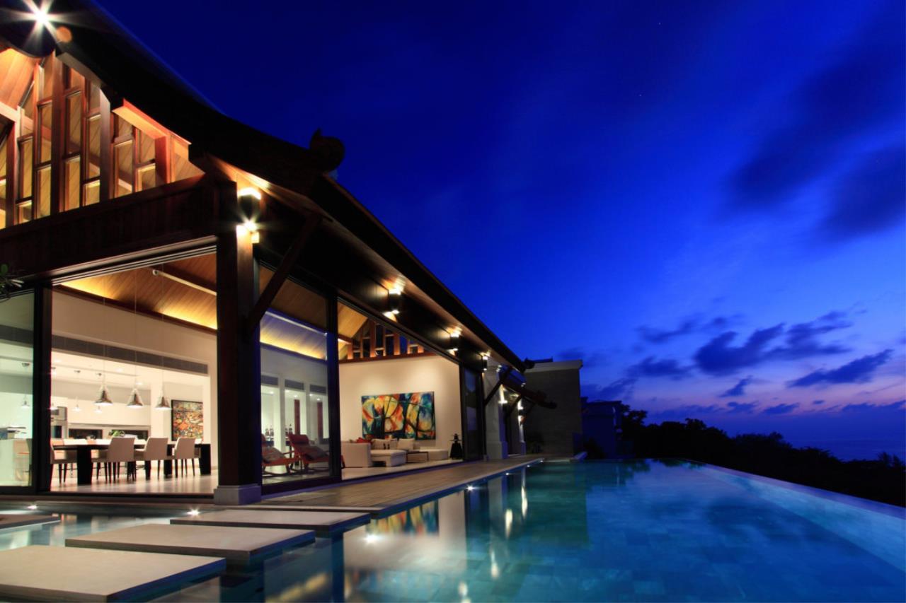 REAL Phuket  Agency's Malaiwana - Luxury Estate Villa overlooking Naithon Beach 5