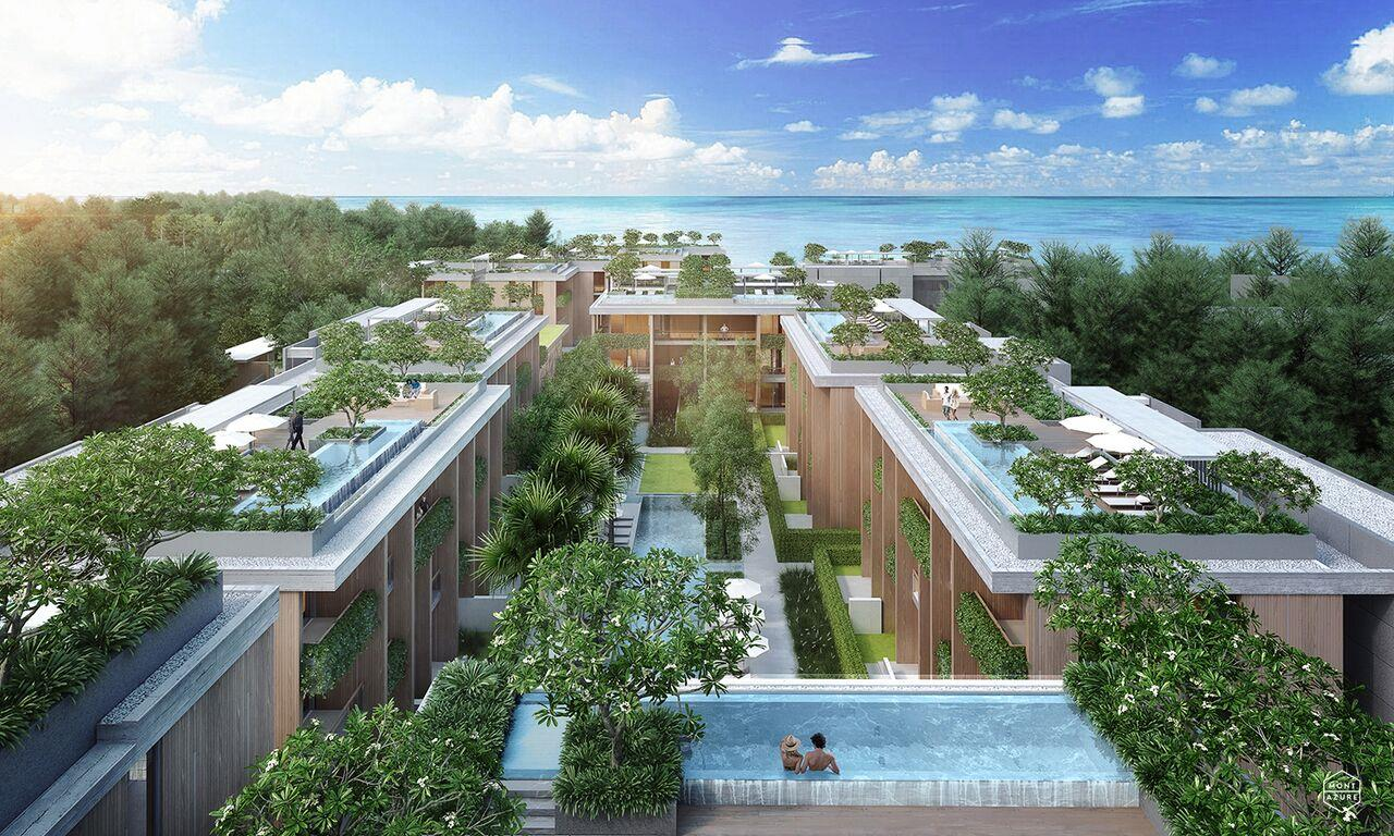 REAL Phuket  Agency's The Residence at MontAzure - 2 Bedroom Beachside Condominium in Kamala 3