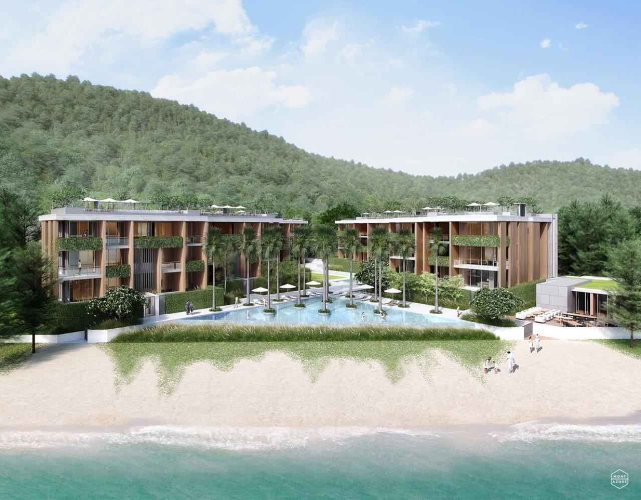 REAL Phuket  Agency's The Residence at MontAzure - 2 Bedroom Beachside Condominium in Kamala 1