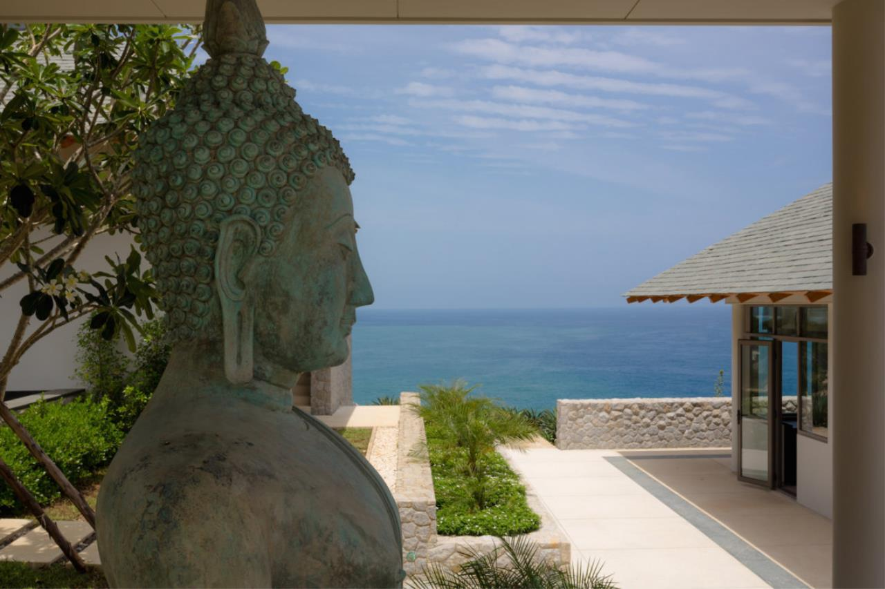 REAL Phuket  Agency's Baan Paa Talee - Magnificent 9-Bedroom Oceanfront Villa at Cape Amarin 3