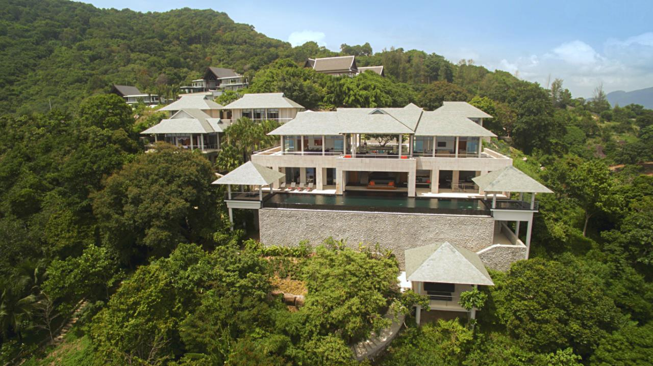 REAL Phuket  Agency's Baan Paa Talee - Magnificent 9-Bedroom Oceanfront Villa at Cape Amarin 24