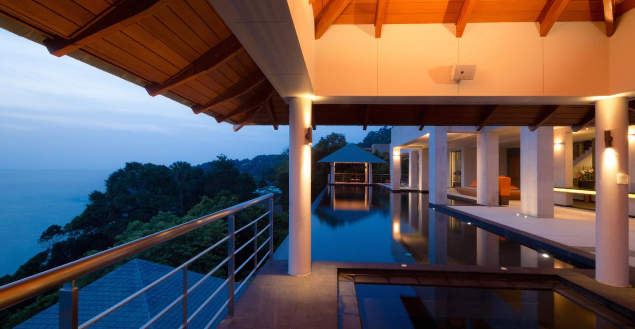 REAL Phuket  Agency's Baan Paa Talee - Magnificent 9-Bedroom Oceanfront Villa at Cape Amarin 111