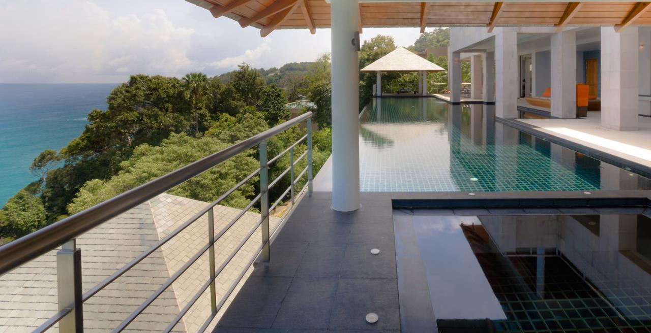REAL Phuket  Agency's Baan Paa Talee - Magnificent 9-Bedroom Oceanfront Villa at Cape Amarin 101