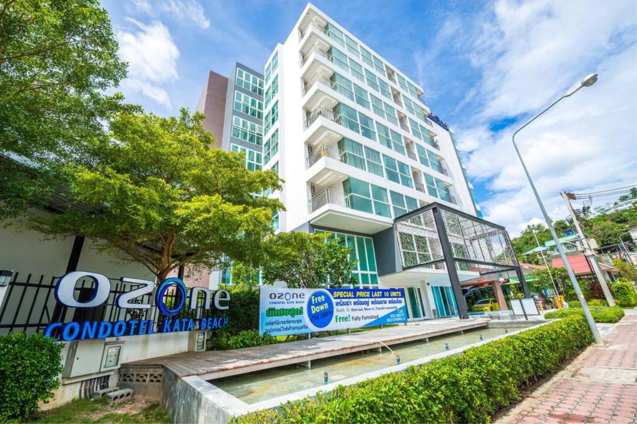REAL Phuket  Agency's Ozone Condotel - Studio Condominium near Kata Beach 1