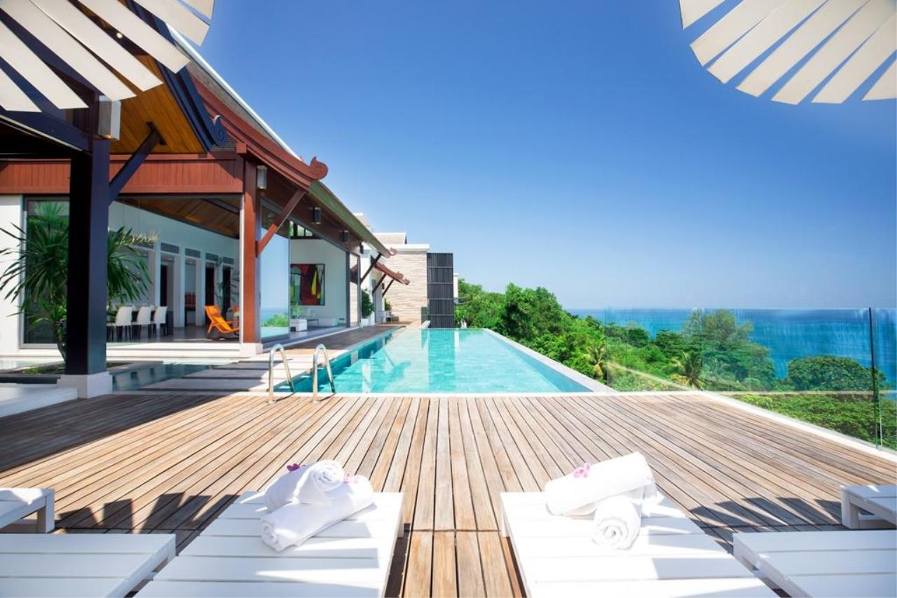 REAL Phuket  Agency's Malaiwana - Ultra-Exclusive 5-Bedroom Sea View Villa in Naithon 9