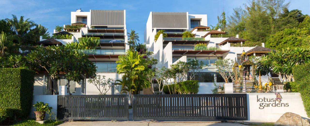 REAL Phuket  Agency's Lotus Garden - 3-Bedroom Sunset Residence 4