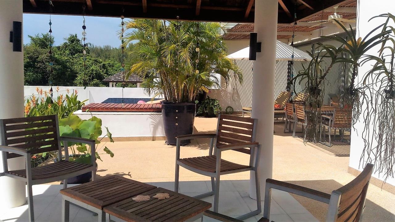 REAL Phuket  Agency's Lotus Garden - 3-Bedroom Sunset Residence 6