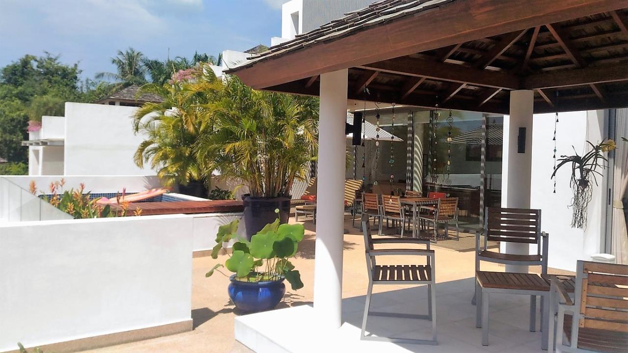 REAL Phuket  Agency's Lotus Garden - 3-Bedroom Sunset Residence 7